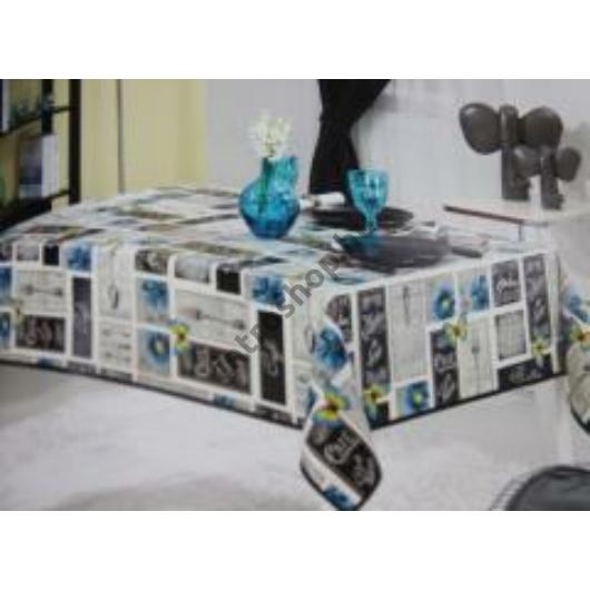 Troya Asztalterítő 100 x 140 cm Viaszos vászon