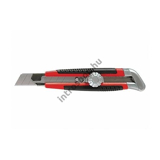 Kés 18mm fém megvezetéssel műa.ház MTX