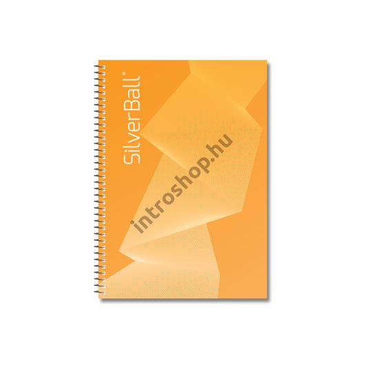 Spirálfüzet A4 70 lap FRANCIAK. KLASSZIK SilverBall 5db/cs