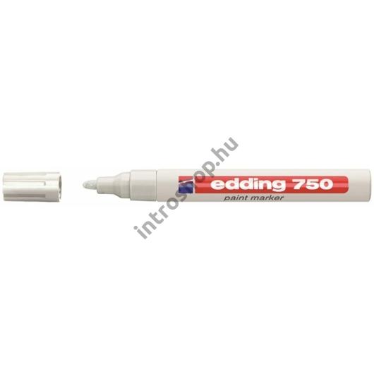 "Lakkmarker, 2-4 mm, EDDING ""750"", fehér"