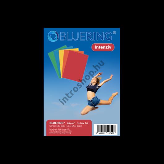Másolópapír A4 80 g intenzív színes 5x20 ív/csomag BLUERING