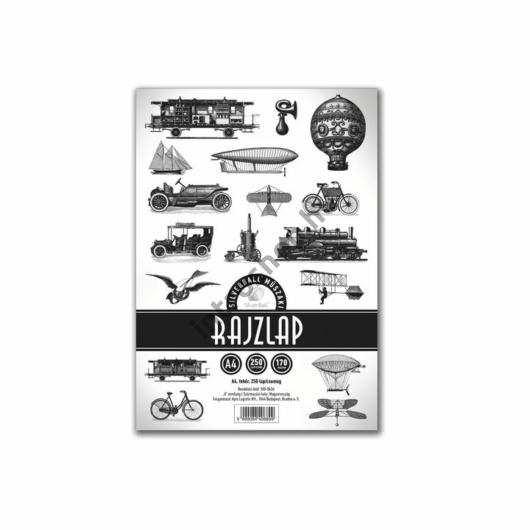 Rajzlap A4 műszaki 170gr. SilverBall 250ív/csom