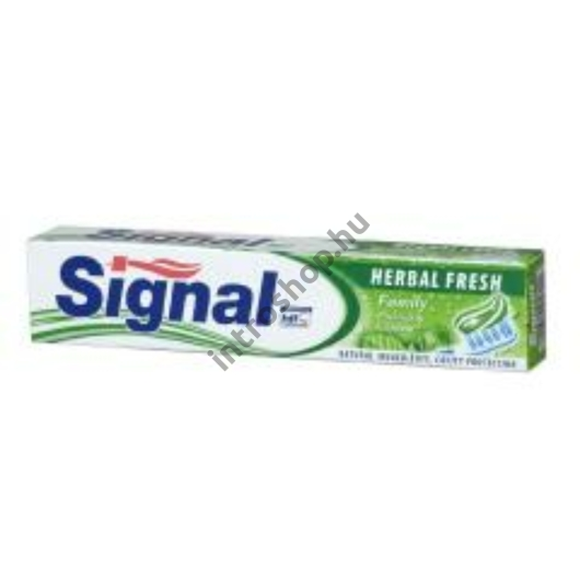 Fogkrém Signal Family 75ml Herbal Fresh