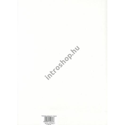 Rajzlap A3/10 ív famentes, 120g/m2, nejlonozott csomagolásban