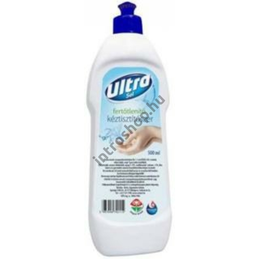 Ultra Sol Kéztisztítószer 500 ml fertőtlenítő hatású