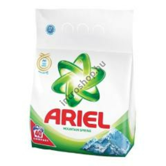 Ariel Mosópor 3 kg 40 mosás Fehér ruhához - Mountain Spring