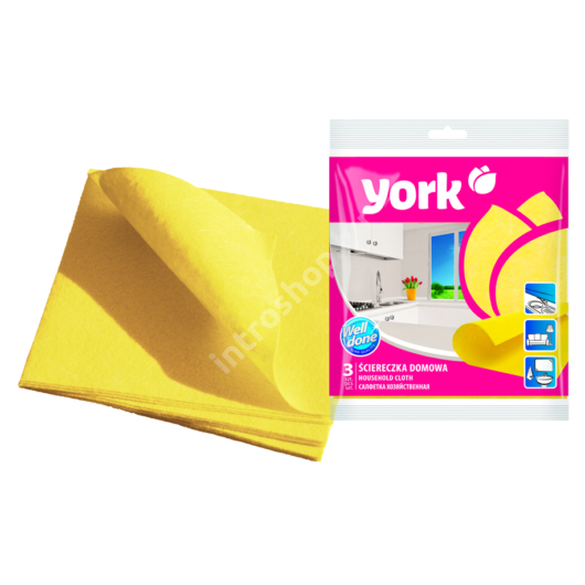 York törlőkendő Vlies 3 db