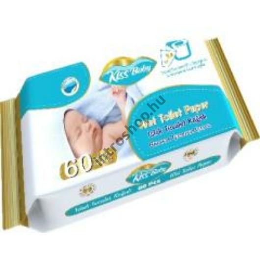 Kiss Baby Nedves WC papír 60 db KSB.WTP.60