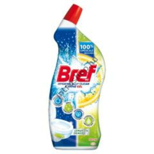Bref wc gél 700 ml Lemonita Power